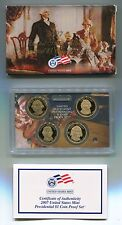 United States Mint Presidential $1 Coin Proof Set Year 2007 With COA