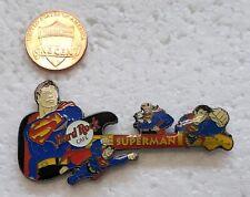 SUPERMAN DC COMICS Guitar LAPEL PIN