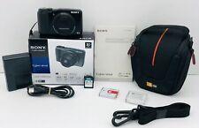 Sony Cyber-shot DSC-HX20V 18.2MP Digital Camera With Case, SD Card, Extra Batt