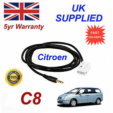 Citroen C8 AUX 3.5mm Input Audio cable High Quality Sound MY 05-