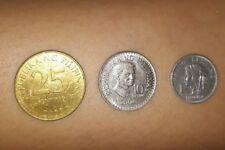 Filippine lotto di 3 monete del 1969-1976-1993