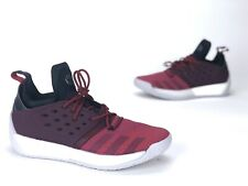 NEW Adidas Harden Vol. 2 Mens Size 11 [AH2124] Basketball Shoes Red Maroon