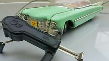 VINTAGE CADILLAC ELDORADO 1959 TIN TOY USSR CCCP SOVIET RUSSIA REMOTE CONTROLED