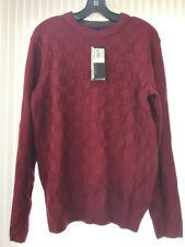 Geoffrey Beene Women's Warm Knit Sweater Size S Red Wine NWT Ships N 24h