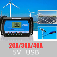 LCD Solar Regler Batterie Regulator Laderegler Controller Dual USB 20A LD980 HOT