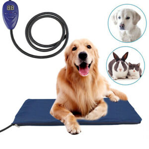 Waterproof Pet Puppy Dog Heated Bed Electric Heating Mat Cat Kitten Thermal Pad