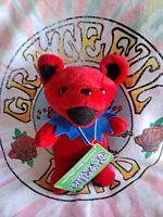 Grateful Dead BERTHA Plush Dancing Bear Beanie Baby 5/30/71  WINTERLAND 1997