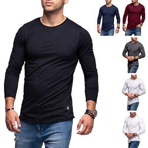 Jack & Jones Herren Langarmshirt INFINITY Longshirt Basic T-Shirt Casual Modern