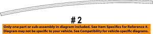 Dodge CHRYSLER OEM 13-16 Dart Instrument Panel Dash-Seal 68139107AB