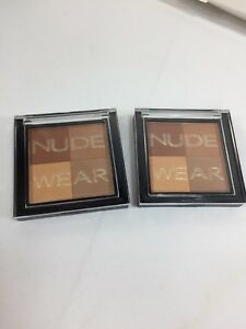 (2) Physicians Formula Nude Wear Bronzer Golden Light Highlight