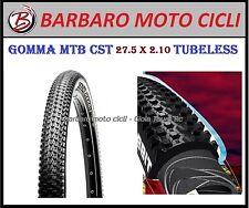 COPERTONI CST MTB BICI BICICLETTA 27.5 X 2.10 MOUNTAIN BIKE TUBELESS READY GOMME