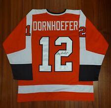 Gary Dornhoefer Autographed Signed Jersey Philadelphia Flyers JSA