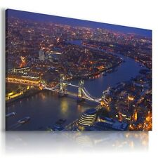 ENGLAND LONDON TOWER BRIDGE View Canvas Wall Art Picture Large  L132  X MATAGA