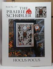 Hocus Pocus Prairie Schooler Cross Stitch Pattern Cardstock OOP BK 197 New