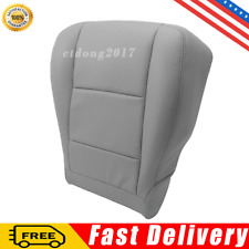 For Toyota Sequoia Tundra 2000-2004 Driver Side Bottom Seat Cover Gray Leather