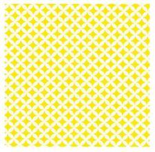 Klebefolie Möbelfolie selbstklbend Elliot Rauten gelb weiß Dekor 45 cm x 200 cm