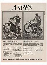 Pubblicità 1972 ASPES NAVAHO HOPI MOTO MOTOR advert werbung publicitè reklame