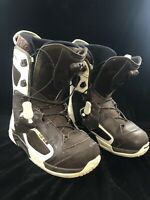Salomon Synapse Mens Snowboard Boots size 9.5 white and black