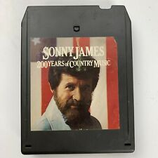 Sonny James 200 Years of Country Music (8-Track Tape)