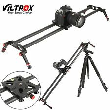 "Viltrox 32"" 80CM Carbon Fiber Camera Track Dolly Rail Slider Video Stabiliser"