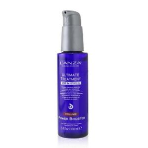 Lanza Ultimate Treatment Step 2a Additive Volume Power Booster 100ml Mens Hair