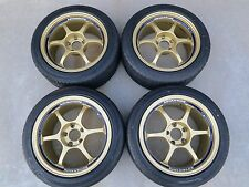 ADVAN RG 17x8.5 +31 17x9.5 +35 5x114 S2000 MR2 SW20 240SX S13 S15 RX7 SUPRA 350Z