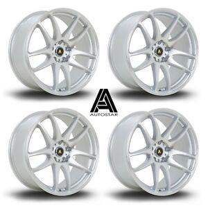 "Autostar A510 19"" Staggered alloys fits 350Z Skyline 200sx Supra Nissan 5x114.3"