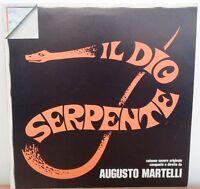 disco VINILE musica LP 33 giri AUGUSTO MARTELLI - IL DIO SERPENTE - COME NUOVO