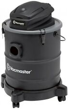 Vacmaster Ash Vacuum 6 Gal. Wet Dry Vac LED Work Light 8 Ultra-Quiet Black
