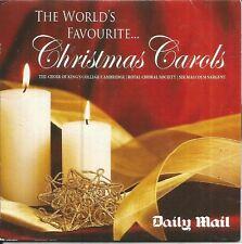 CHRISTMAS CAROLS - WORLDS FAVOURITE - MAIL PROMO MUSIC CD