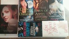 6 Paranormal Romance books - Vampires - All in Excellent condition