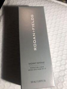 Rodan and Fields RADIANT DEFENSE PERFECTING LIQUID- Shade **GOLDEN** Exp 9/20