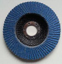 125 mm INOX Fächerscheibe Korn 40 Schleifscheiben Edelstahl Fächerscheiben