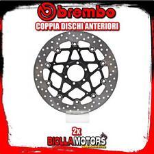2-78B40870 COPPIA DISCHI FRENO ANTERIORE BREMBO APRILIA RSV4 FACTORY APRC 2012-