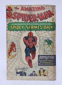 VINTAGE MARVEL COMICS THE AMAZING SPIDERMAN COMIC BOOK ISSUE #19