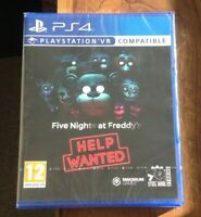 Five Nights at Freddy's - Help Wanted | PS4 PlayStation 4 PSVR New. Free UK P&P