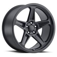 20 Rims Stagger Matte Black Dodge Demon Wheels Fit Challenger Charger Scatpack