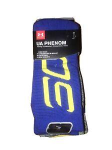 Under Armour UA Phenom Crew Socks 3-Pairs Men's 8-12 $22