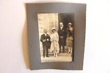 Photo année 1930 mariage  N/B Mariage Département La Guerche 18  222/13