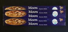 40 Sticks 5x 8g Packs THE MOON Natural Wicca Ritual Incense Insence Bulk Kamini