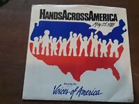 45 rpm record Hands Across America, voices of america