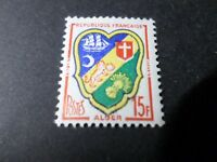 FRANCE 1959, timbre 1195, ARMOIRIES ALGER, neuf**, VF MNH STAMP