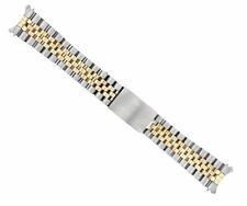 19MM 14K GOLD JUBILEE WATCH BAND FOR 34MM ROLEX DATE 15200 15203 15505 TWO TONE