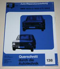 Reparaturanleitung BMW 1600-02 / 1600-2 TI / 2002, Baureihe E10 / E114 ab 1966