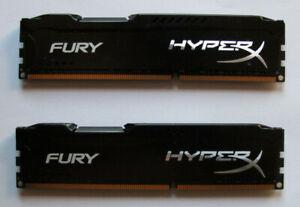Kingston HyperX Fury DDR3-1866 DC - 16GB (2x8GB) HX318C10FBK2/16 schwarz