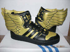 official photos 17f6c a3136 2010 ADIDAS JEREMY SCOTT JS WINGS 2.0 GOLD FR39 1 3 UK6 usa flag G44824
