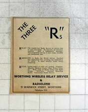 1949 Worthing Wireless Relay Service And Radiolone Warwick Street