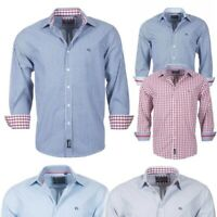 Rydale Mens Checked Shirts & Striped Shirts Classic Oxford Cotton