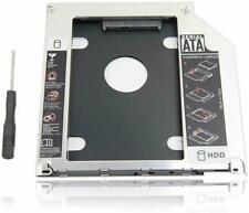 "SATA HDD SSD 2.5/""//9.5mm 2nd Hard Drive Caddy Tray Vassoio per MacBook Pro 131517"