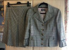 Authentic D&G Ladies Skirt Suit - s.Small - 98% Wool